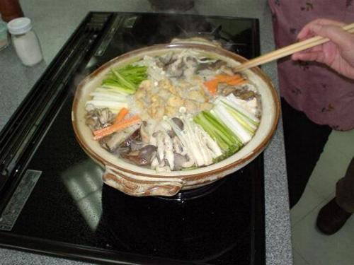 韓国の茸鍋